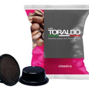 Toraldo Miscela Classica 100 Capsule Compatibili A Modo Mio